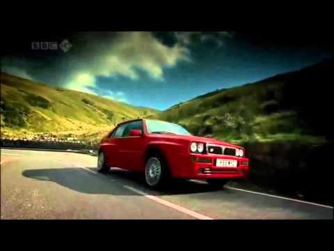 Lancia delta integrale top gear best lancia