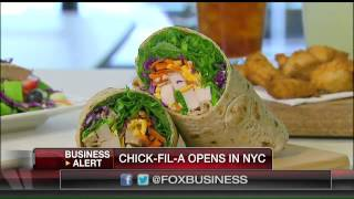 Chick-fil-A opens in New York City