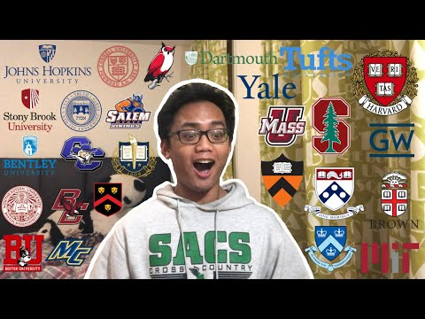 College Decision Reactions 2020!!! (Harvard, MIT, Stanford, And 23 More)