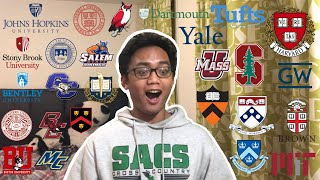 College Decision Reactions 2020!!! (Harvard, MIT, Stanford, Yale, Princeton, Columbia and 20 more!)