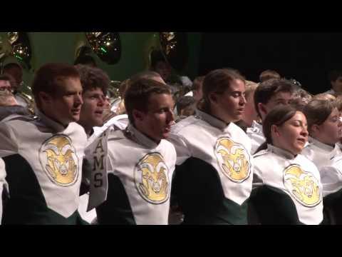 Colorado State University Marching Band: CSU Alma Matter
