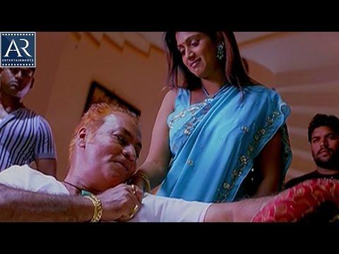 Nagaram Movie Scenes   Aunty with Pradeep Rawat   AR Entertainments