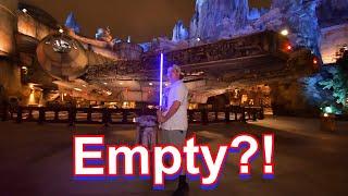 Galaxy's Edge was... EMPTY?! Disneyland Vlog #1!