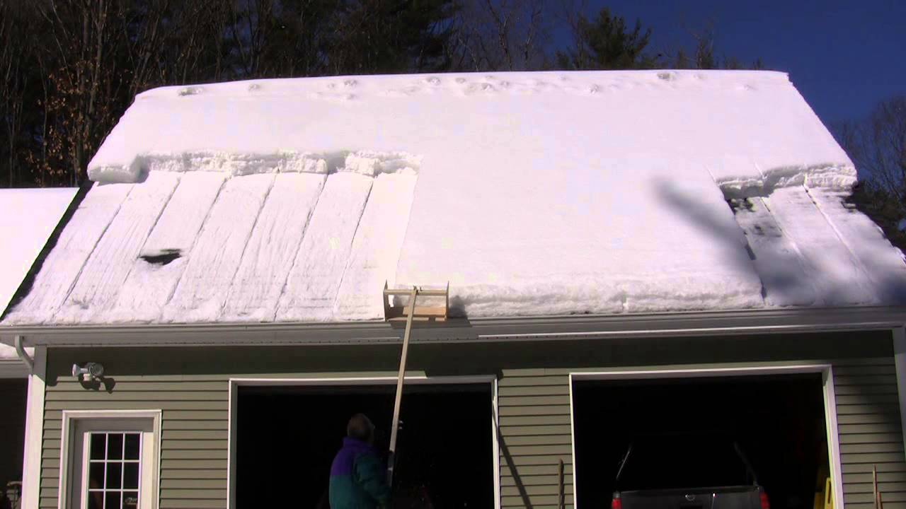 Diy Roof Snow Cutter V 1 2 27 2015 Youtube