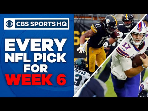 2020 NFL Week 6 Picks: Bills bounce back to stun Chiefs | CBS Sports HQ