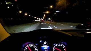 Mercedes C-Class W205 Night Ride City Car Driving Intelligent Ambient Led Leds Walkaround