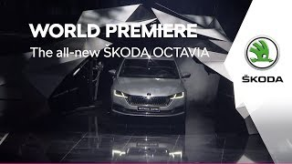 The all-new ŠKODA OCTAVIA: World Premiere