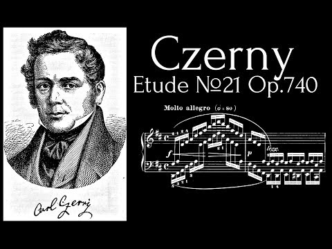 Carl Czerny - Etude №21 in D major Op.740