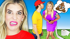 Maddie's First Date with Ex Boyfriend Crush! (Kiss Gone Wrong) | Rebecca Zamolo