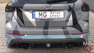 Ford Focus RS III w/ MGmotorsport.pl exhaust