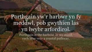 Porthgain - Fflur Dafydd (geiriau / lyrics)