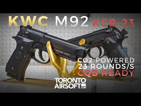 Here's why KWC got it right with the NEW M92 KCB 23 - TorontoAirsoft.com