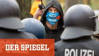Corona-Proteste in Berlin: