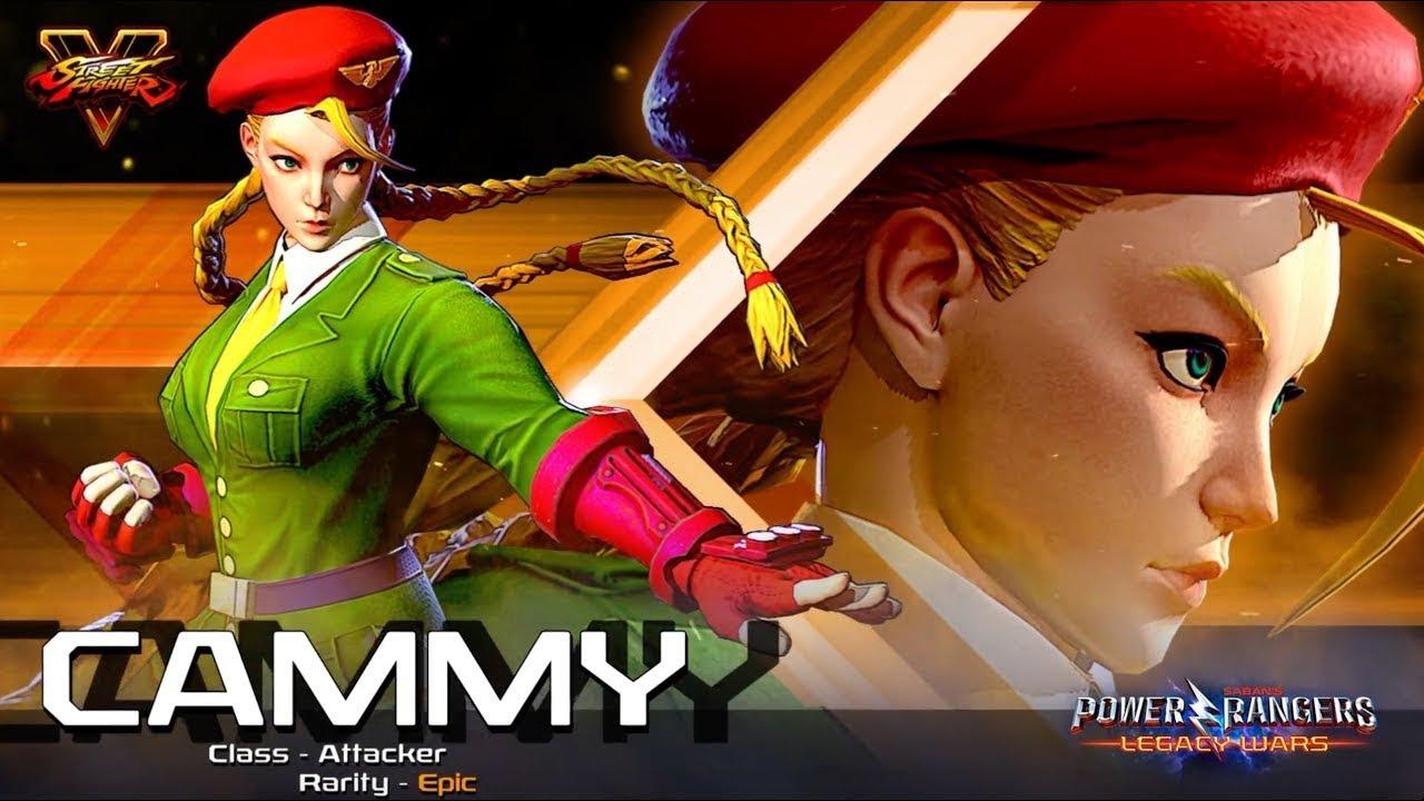 Power Rangers X Street Fighter (Power Rangers: Legacy Wars) - Cammy amazing performances #2