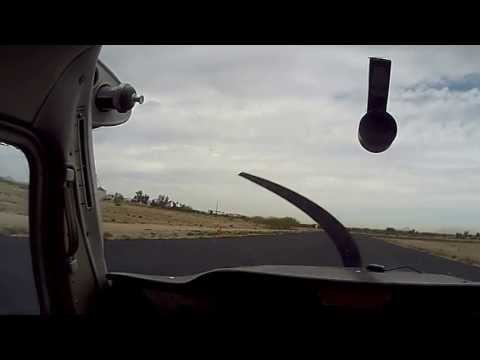 Cessna 150 -Take off, landings