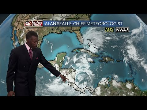 Tropical Depression 16 Likely Becomes Tropical Storm Nate,10/4/17