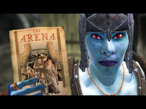 Joining The Arena In OBLIVION