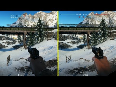 Battlefield V Beta PS4 Pro vs Xbox One X Graphics Comparison - Narvik Map thumbnail