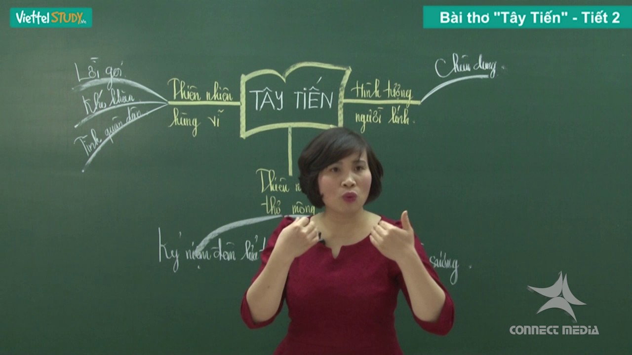 [Connect media] Luyện thi cấp tốc | Môn Văn - Bài Tây Tiến Part 02, Giảng viên Cô Hà