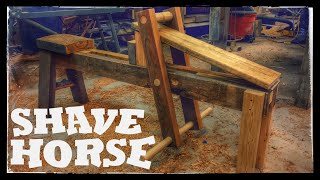Traditional Shave Horse (or Shaving Horse)
