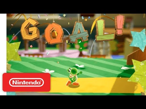 Yoshi (Working Title) - Demonstration - Nintendo E3 2017