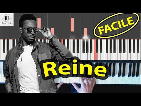 Reine - DADJU - Piano tutoriel facile