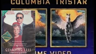 Opening to Guarding Tess 1994 VHS Australia