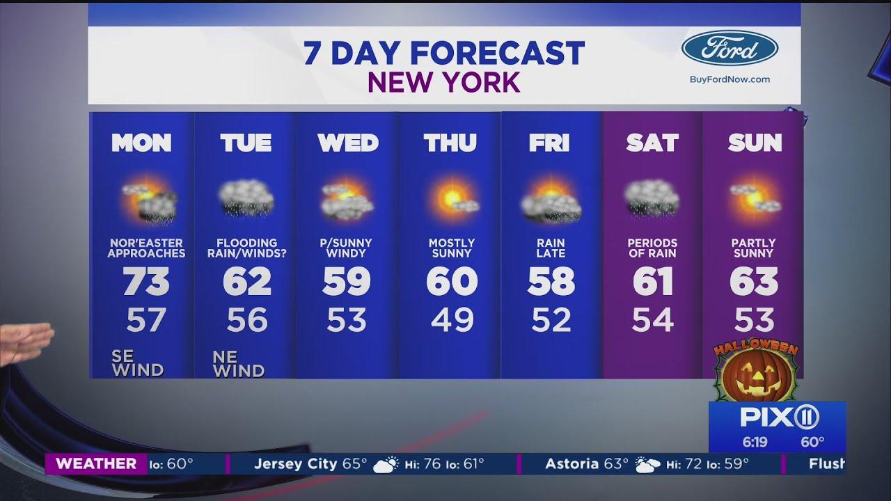 Nor'easter preparations: Tri-state region prepared for heavy rain ...