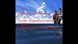 Jorge e Mateus - Logo Eu (letra e cifra)