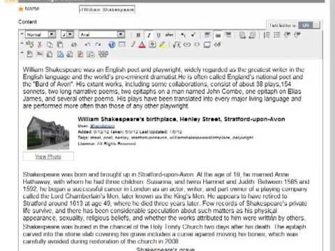 Using the Wiki Tool in Blackboard 9