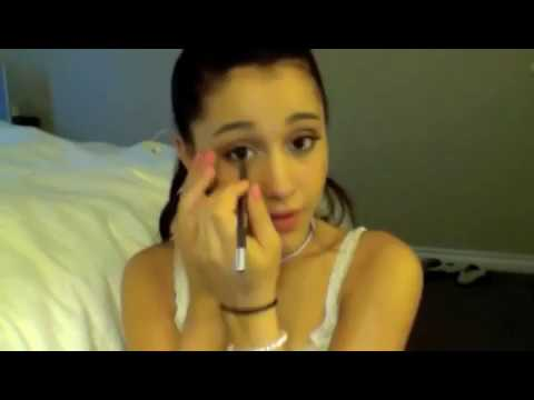 Makeup tutorial by Ariana Grande