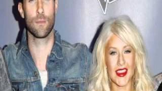 Maroon 5 feat Christina Aguilera-Moves Like Jagger.wmv