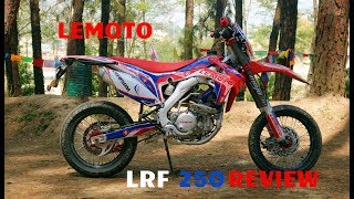 LEMOTO LRF 250M FIRST RIDE AND REVIEW NEW BIKE IN NEPAL