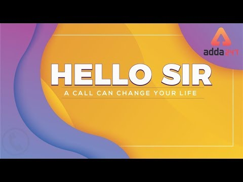 "Hello Sir | ""A Call Can Change Your Life""  