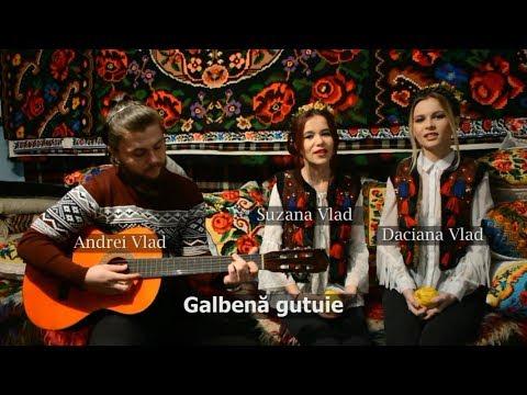Colindă - Suzana, Daciana si Andrei Vlad - Galbena gutuie (cover Nica Zaharia)
