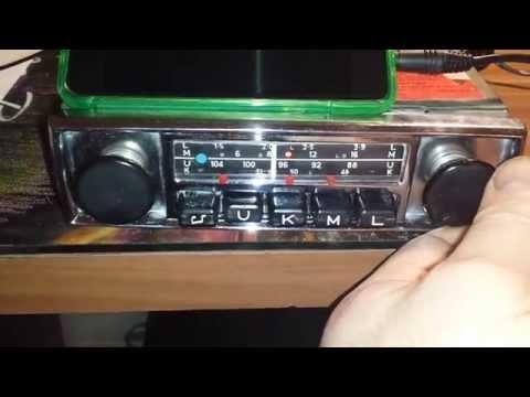 Blaupunkt Essen 1966-70 MP3 im Oldtimer