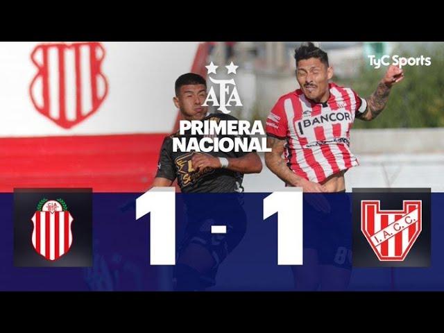 Barracas Central 1-1 Instituto | Primera Nacional