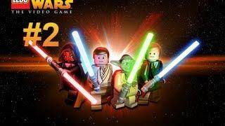 LEGO Star Wars Complete Saga - Война в джунглях - 2 Серия