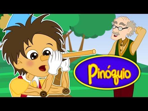 Pinóquio  - Historia completa - Desenho animado infantil com Os Amiguinhos