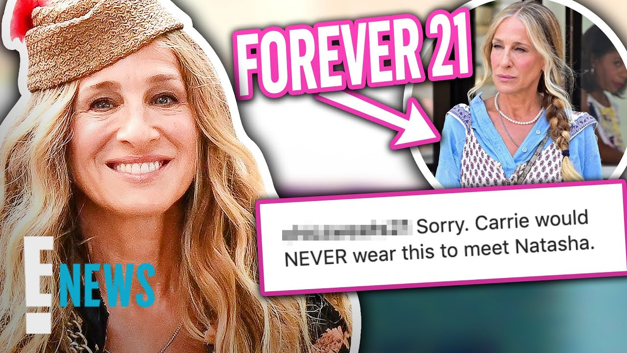 Carrie Bradshaw Wears Forever 21 & Fans Have Thoughts! News