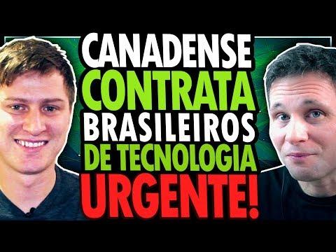 EMPRESA DO CANADÁ CONTRATA BRASILEIROS DE TI E PAGA SUA IMIGRAÇÃO - URGENTE!