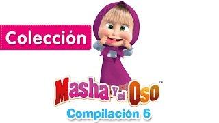 Masha y el Oso - Compilación 6 (20 minutos) Dibujos Animados en Español!