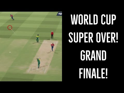 World Cup Super Over | Final - South Africa vs. England | Ashes Cricket 2017
