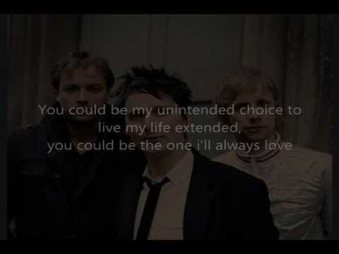 Muse - Unintended (lyrics+mp3)