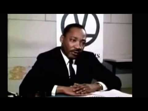 Martin Luther King Jr- Briefly discussing group economics and black empowerment (1967)
