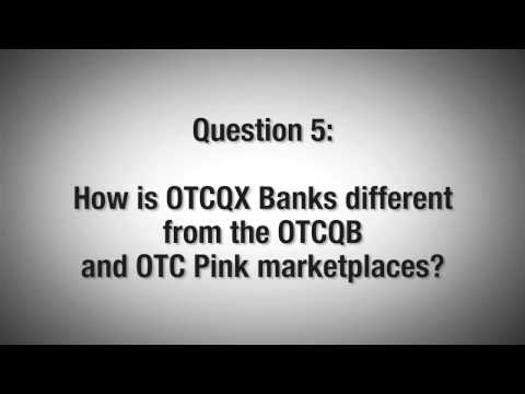 An Introduction to OTCQX Banks