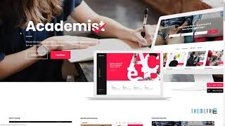 Academist - Modern Education and Learning Management System Theme
