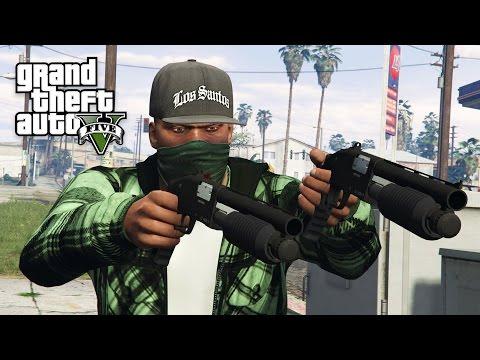 GTA 5 Real Life Thug Mod #24 - GANG LEADER!! (GTA 5 Mods)