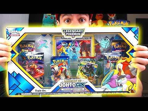 HYPER RARE PULL! - Opening NEW POKEMON Legends of Johto GX Pokemon Cards Box from GAMESTOP!