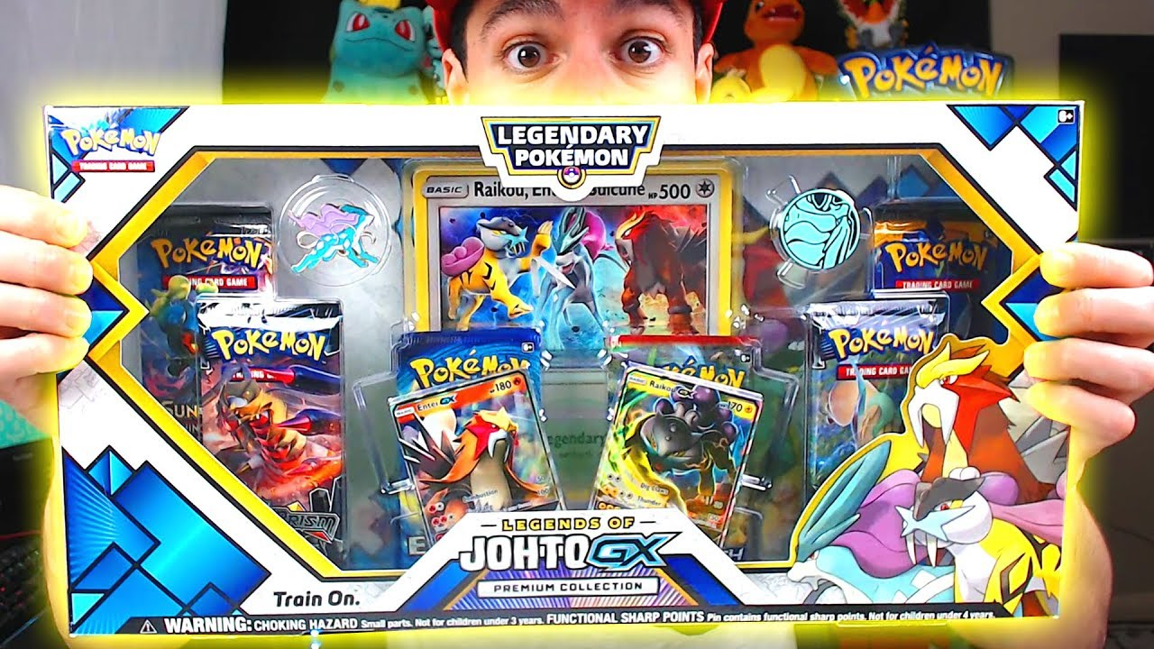 Hyper Rare Pull Opening New Pokemon Legends Of Johto Gx Pokemon Cards Box From Gamestop